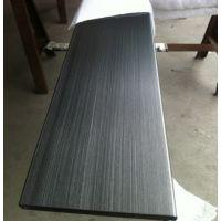 厦门不锈钢方通 拉丝黑钛不锈钢方管304