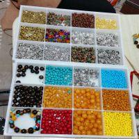 散珠收纳盒 12格 DIY文玩多宝箱 透明塑料 珠宝配饰盒