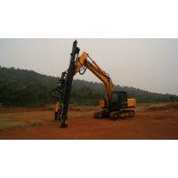 挖机改液压钻机标准化、专业钻大孔径型号SKH-150