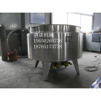 电加热夹层锅 蒸煮锅 立式夹层锅 重诺机械优质卤煮锅