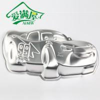 【爱满屋】新品正的 麦昆汽车卡通造型模具创意蛋糕模具---铝合金