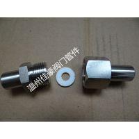 JB/T966对焊式直通终端接头,仪表活接头,带O型密封圈液压接头