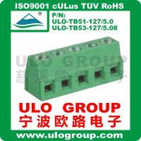 接线端子127-5.0 127-5.08 螺钉直焊式端子 PCB 032ULO/欧路