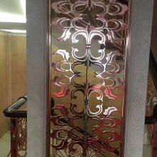 广东深加工铝板浮雕青古铜水镀屏风 刺激你的视觉感受青古铜铝屏风