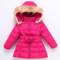 低价便宜外贸儿童棉衣外套冬装 韩版女童棉服新款中大童毛领棉袄女童棉衣批发