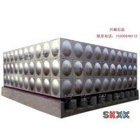 华阴玻璃钢水箱经销商 RB-1华阴消防水箱 润捷水箱