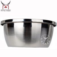 直销不锈钢特厚大反边调料缸 无磁优质加深足尺欧式多用盆18-36
