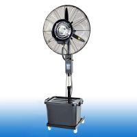 供应工业喷雾电风扇雾化升降户外强力摇头落地扇