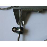 福莱通电缆管固定夹 带胶条线缆卡子 防磨损防耐腐蚀