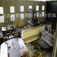 出售二手卧式加工中心,日本东芝6工位1米加工中心BMC1000可试机现货