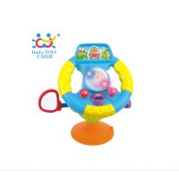 汇乐儿童玩具 快乐迷你方向盘 宝宝学模拟驾驶幼儿童早教益智