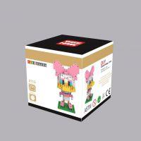 香港智鹰Wisehawk纳米积木 益智拼装积木玩具 迪士尼黛西2113