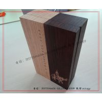 【工厂订做】创意双开实木葡萄酒盒 实木葡萄酒礼品包装盒加工