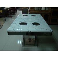 圆形火锅桌代理加盟:在哪能买到高性价电磁炉火锅桌