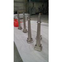 供应不锈钢阳台立柱 穿管型立柱