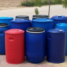 200升化工塑料大桶 山东200L两个小口HDPE塑料桶 200公斤双L环塑料桶生产厂家