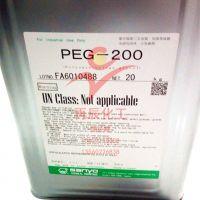 广州优势现货 日本三洋医药级PEG 200 Sanyo 原装进口药用聚乙二醇200