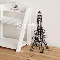 巴黎铁塔摆件 埃菲尔装饰 铁艺手工编织摆件 酒吧软装 家居装饰