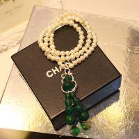 厂家直销 纯天然淡水珍珠项链手串批发 光泽正圆925纯银葫芦