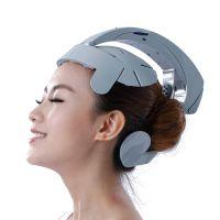 电动脑轻松头部按摩器 好来康健康仪震动 脑部按摩仪 头部按摩器