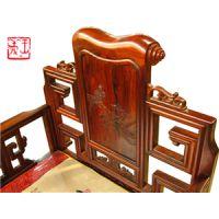 红酸枝沙发十三件套工好料好前景好的王义红木古典家具