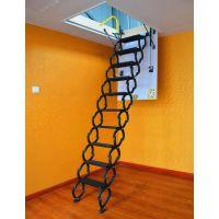 鞍山阁楼楼梯设计效果图伸缩梯子复式阁楼装修