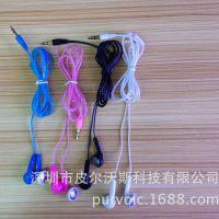 新款平耳耳机 水晶线MP3耳机 生产厂家批发直销