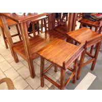 天津实木餐桌椅生产厂家-天津冰城串吧餐桌椅图片-餐厅-天津木质餐桌椅报价单 实木餐桌椅