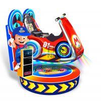 供应升降单车 运动摇摆益智休闲类游戏 公园商场游乐设备 中山市日东动漫科技