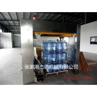 供应5加仑桶装水生产线配套设备码垛机 桶装水生产设备全自动码垛机