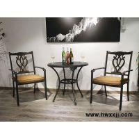 户外铸铝桌椅欧式花园阳台桌椅露台铁艺桌椅馨宁居休闲家具