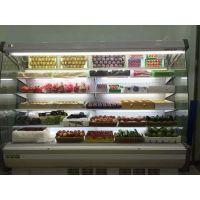 斯科曼商用立式冷藏展示柜 超市水果蔬菜保鲜柜 弧形立风柜风幕柜