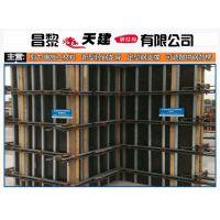河南天建实业可调节龙骨模板支撑快速施工提高效率