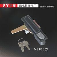 厂家供应驰凯ms490锁 配电箱锁 开关柜门锁 配电柜锁具 锌合金平面锁