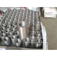 安阳18-40钢筋连接套筒|直螺纹套筒|钢筋接驳器|45号碳钢材质