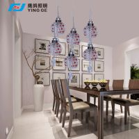 厂家直销鹰鸽照明YG-8520田园风格LED餐厅灯36W酒店灯具特价促销