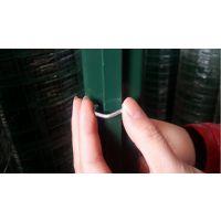 专业生产 48MM/1.0MM燕尾柱 铁丝网 荷兰网立柱 护栏网桩子