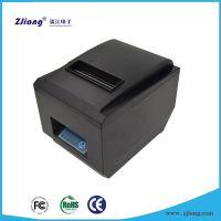 厂家直销ZJ-8250厨房热敏打印机 自动切刀 高速打印 外加厨房报警器装置