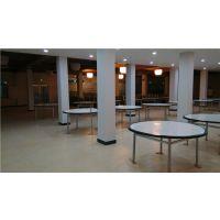 餐桌靠背椅玻璃钢餐桌椅食堂餐桌椅8人靠背餐桌椅玻璃钢连体餐桌