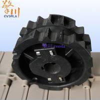 擎川everlar加工定制输送链板链轮 不锈钢打孔攻牙 械设备工业传动专用链轮