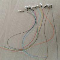 深圳耐斯龙厂家大量供应0.9mm紧包FC/SC/ST/LC尾纤 跳线 可定制