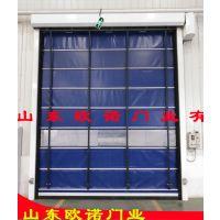 欧诺厂家供应 感应快速堆积门 自动快速卷帘门 带透视窗快速卷门