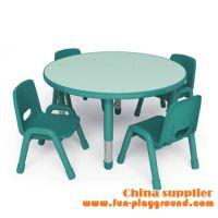 江门市儿童家具厂专供幼儿园家具塑料实木桌椅质量好价格优惠
