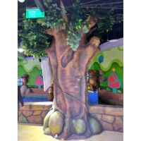 仿真智慧树 儿童游乐园仿真树 逼真造型 儿童乐园仿真榕树