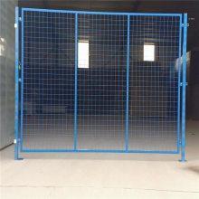 护栏隔离栅 公路隔离栅 双边丝护栏网