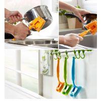 1274 强力清洁锅刷 不伤手去污刷 厨房工具用刷 家务清洁用具.055