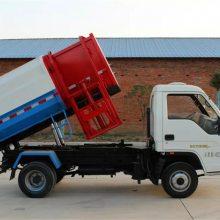 挂桶侧装卸式垃圾车价格是多少?