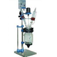 天津实验室乾正仪器S121-5L双层玻璃反应釜高硼硅反应釜厂家生产量大从优
