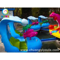 激战鲨鱼岛游乐设备 夏季不可缺少的水上游乐设施