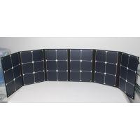 厂家直销太阳能电池充电板 120W折叠式太阳能板 户外太阳能充电器